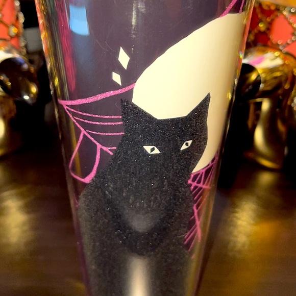 Starbucks Black Cat Halloween Cup